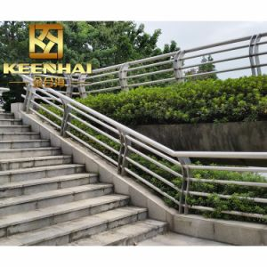 China Stainless Steel Glass Stair Balustrade for Sale pictures & photos