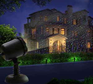 Red and Green Firefly Static Christmas Garden Laser Lights pictures & photos