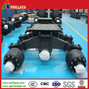 Germany Type Heavy Duty Tandem Bogie Axle pictures & photos