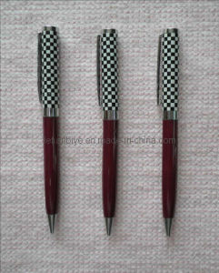 Promotional Metal Ball Pen with Chequered (LT-A007) pictures & photos