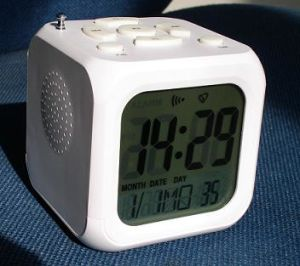 MP3 Alarm Clock (MP3-AC01)