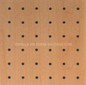 Sound Absorption Building Decorative Material, Perforated Wooden Acoustic Wall Panel pictures & photos