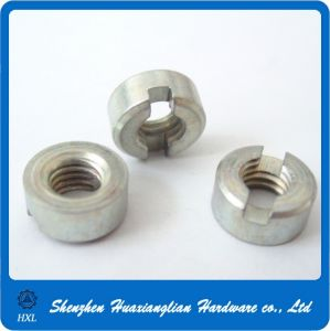 DIN546 DIN 546 Steel Zinc Coating Round Slot Nut pictures & photos