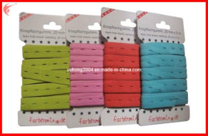Maternity Buttonhole Elastic Webbing for Garments (YH-ET029) pictures & photos