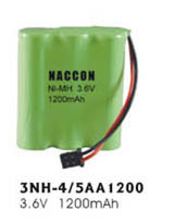 Naccon Ni-Mh Rechargeable Battery Pack (3NH-4/5AA1200) pictures & photos
