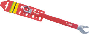 Combination Spanner with Hanging Card of Plastic