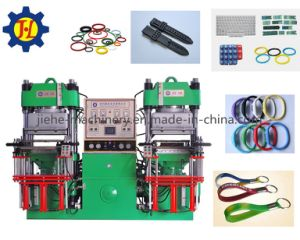 Silicone Rubber Keypad/ Watch Band/Bracelet/ Making Vulcanizing Machine Made in China pictures & photos