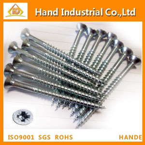 Stainless Steel Phillip Csk Head Chipboard Screw DIN7505 pictures & photos