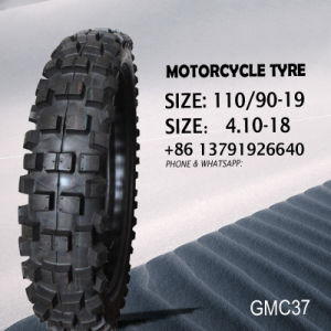 Motorcycle Tyre and Tube (butyl&natural rubber tube) 410-18 110/90-19 pictures & photos