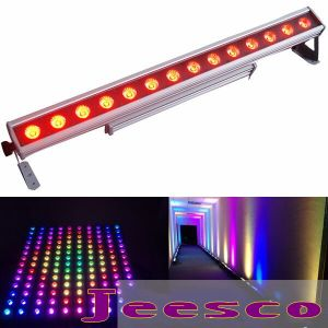 14PCS 10W RGBW 4in1 LED Wall Washer Light IP65 for Outdoor Pixel Bar pictures & photos