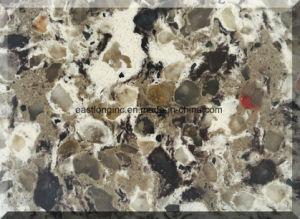 Double & Multiple Color Quartz Stone Slab pictures & photos