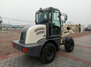 1200kg Hydraulic System Automatic Driving Mini Wheel Loader Zl12 pictures & photos