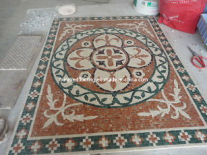 Pattern Mosaic Marble Stone Mosaic Floor Tile (ST132) pictures & photos