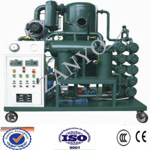 Auto High-Efficiency Vacuum  Lubricant Oil Filtration Machine pictures & photos