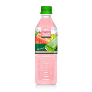 500ml Pet Bottle Strawberry Flavor Aloe Vera pictures & photos