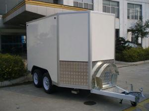 Enclosed Cargo Trailer V Shape (GW-BLV 12) pictures & photos