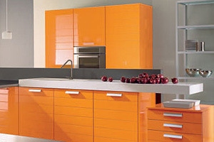 Modular Kitchen Cabinets Project (PVC, Lacquer, Laminate, UV, Wood veneer) pictures & photos