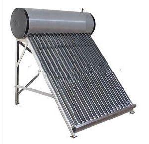 EN12976 Compact Vacuum Tube Solar Water Heater