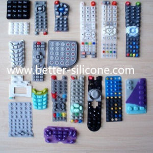 Custom Various Durable Silicone Rubber Keypad Switches pictures & photos