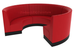 Restaurant Furniture-Circular Booth Seating pictures & photos