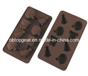 Silicone Chocolate & Cookie Mould -- X′mas (TG9401)