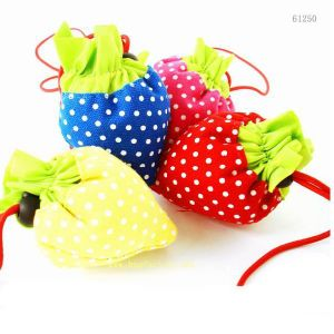 Strawberry Style Polyester Foldable Shopping Bag pictures & photos