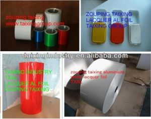 8011 Lacquered Aluminium Foil for Container & Lids