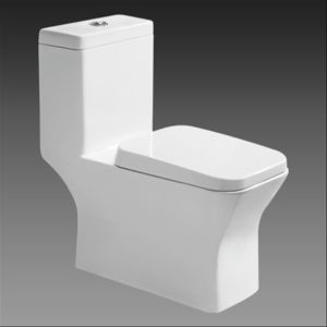 Oxo Toilet Style Square Shape One Piece Toilet