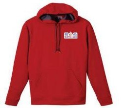 Wholesale Leisure Printed Red Pullover Men Hoody pictures & photos