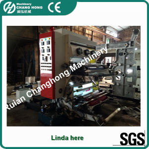 2 Colour Flexo Printing Press Machine (CH802) pictures & photos