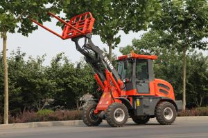 Multi-Function Wheel Loader with Hydraulic Pallet Forks (ER10) pictures & photos