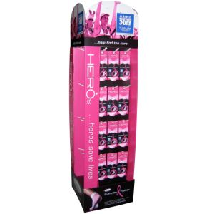 New Style Hot Sales PVC Floor Display Stands pictures & photos