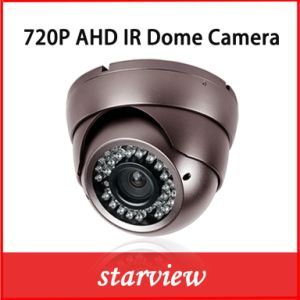 "1/4"" CMOS 1.0MP 720p HD Ahd IR Dome CCTV Camera pictures & photos"