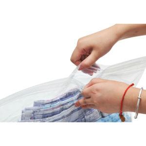 Transparent Material Vacuum Space Storage Bag pictures & photos
