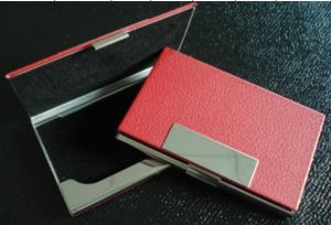 Hot Promotional Genuine Leather/PU Card Holder