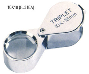 3X Triplet Lenses Jewel Magnifier (FJ318A) pictures & photos