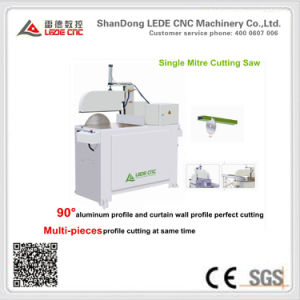 Single Mitre Cutting Saw Machine for Aluminum Window Ljc-500 pictures & photos