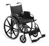 Steel Wheelchair Manual Wheelchair (Hz111-03-24) pictures & photos