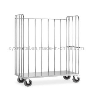 European Style Hotel Used Luggage Hand Roll Trolley Pallet Cart Cotainer pictures & photos