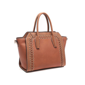 Fashion Grommet Boat Shape Ladies Tote Bag (MBNO043033) pictures & photos