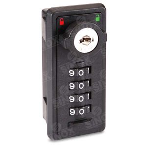Decode Function 4 Dial Resettable Combination Locker Lock pictures & photos