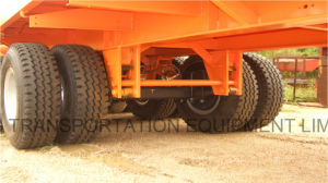40 Feet 3axles Flatbed Semi Trailer pictures & photos