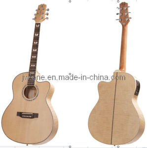 Solid Spruce Body Top Acoustic Guitar pictures & photos