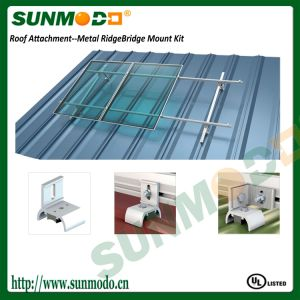 Rooftop Solar Panels Aluminum Bracket with UL Certificate pictures & photos