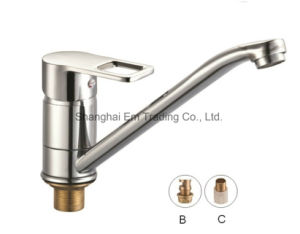Long Spout Kitchen Faucet Brass Water Valve pictures & photos