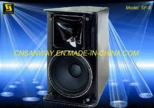 "Single 8"" Compact Portable Sound Loudspeaker Box (Sanway SF-8) pictures & photos"
