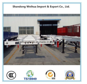 Hot Selling Skeleton Container Trailer From Suppliers pictures & photos