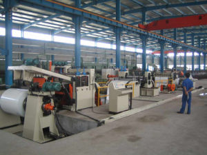 High Speed Cut to Length Line with Width 1600mm