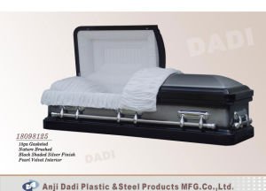 American Style Metal Casket (18098125) pictures & photos