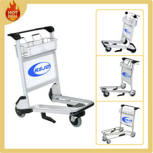 Airport Baggage Passenger Luggage Trolley with Brake pictures & photos